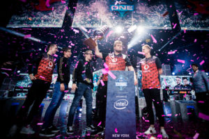 Mousesports enter the Intel Grand Slam race