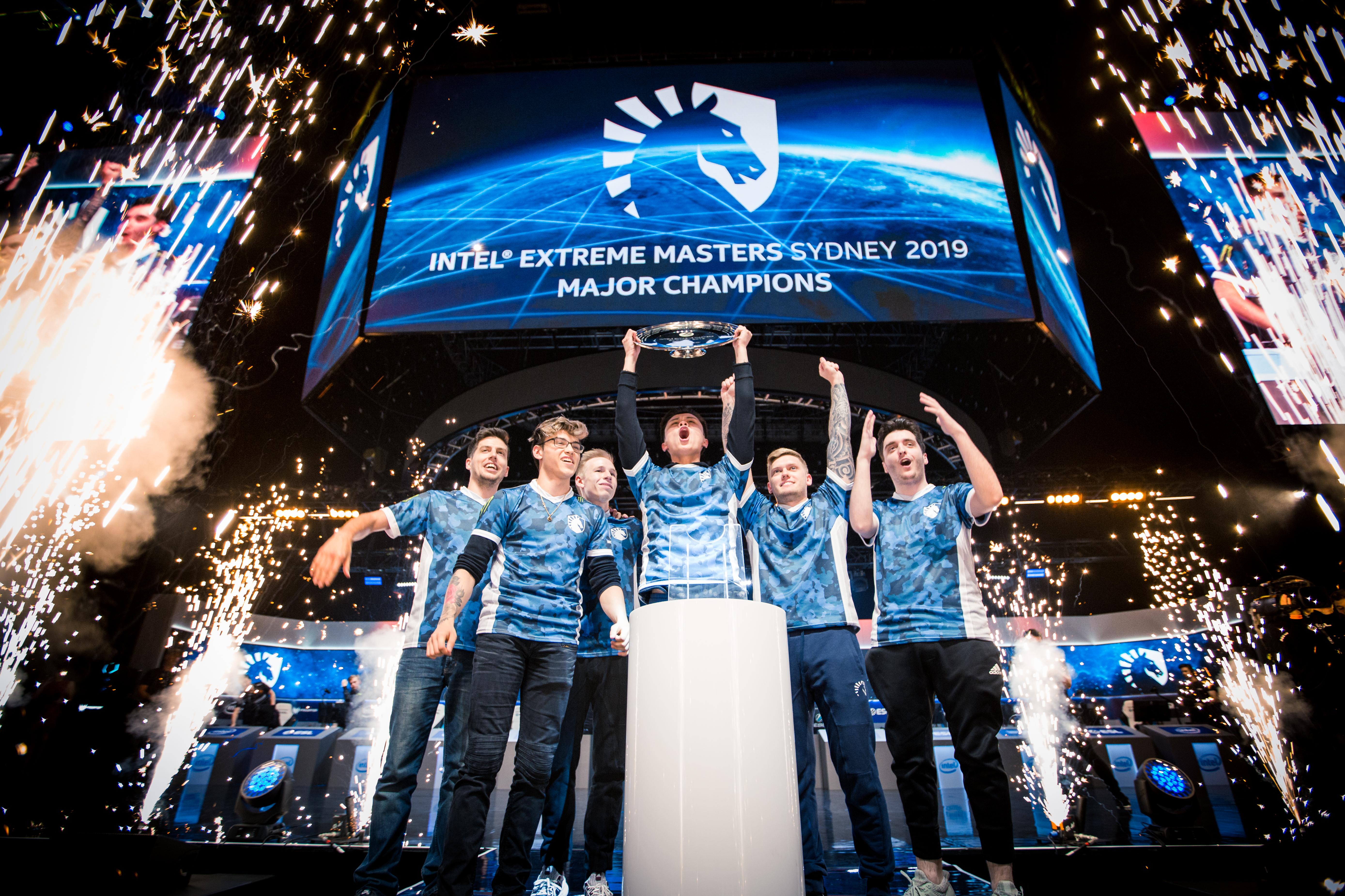 Liquid Take Lead for 2nd Intel Grand Slam